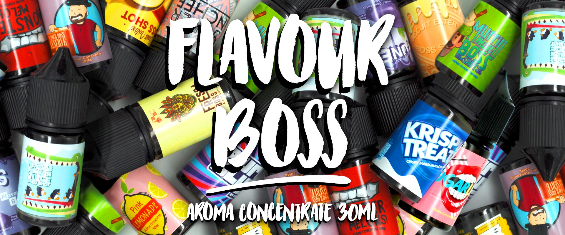 Concentrate 30ML of Flavour Boss !
